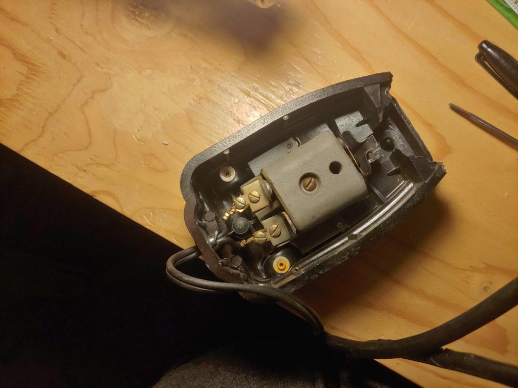 Original foot pedal bottom