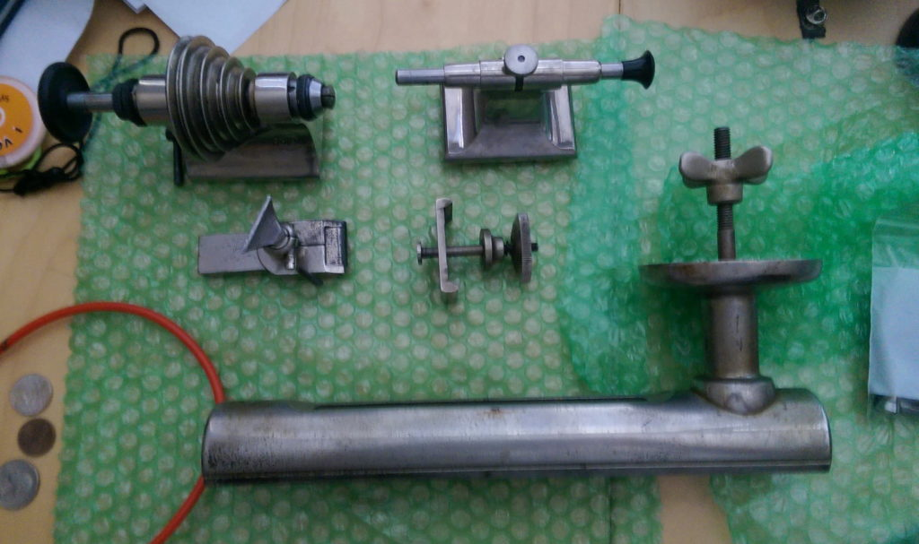 Major lathe parts